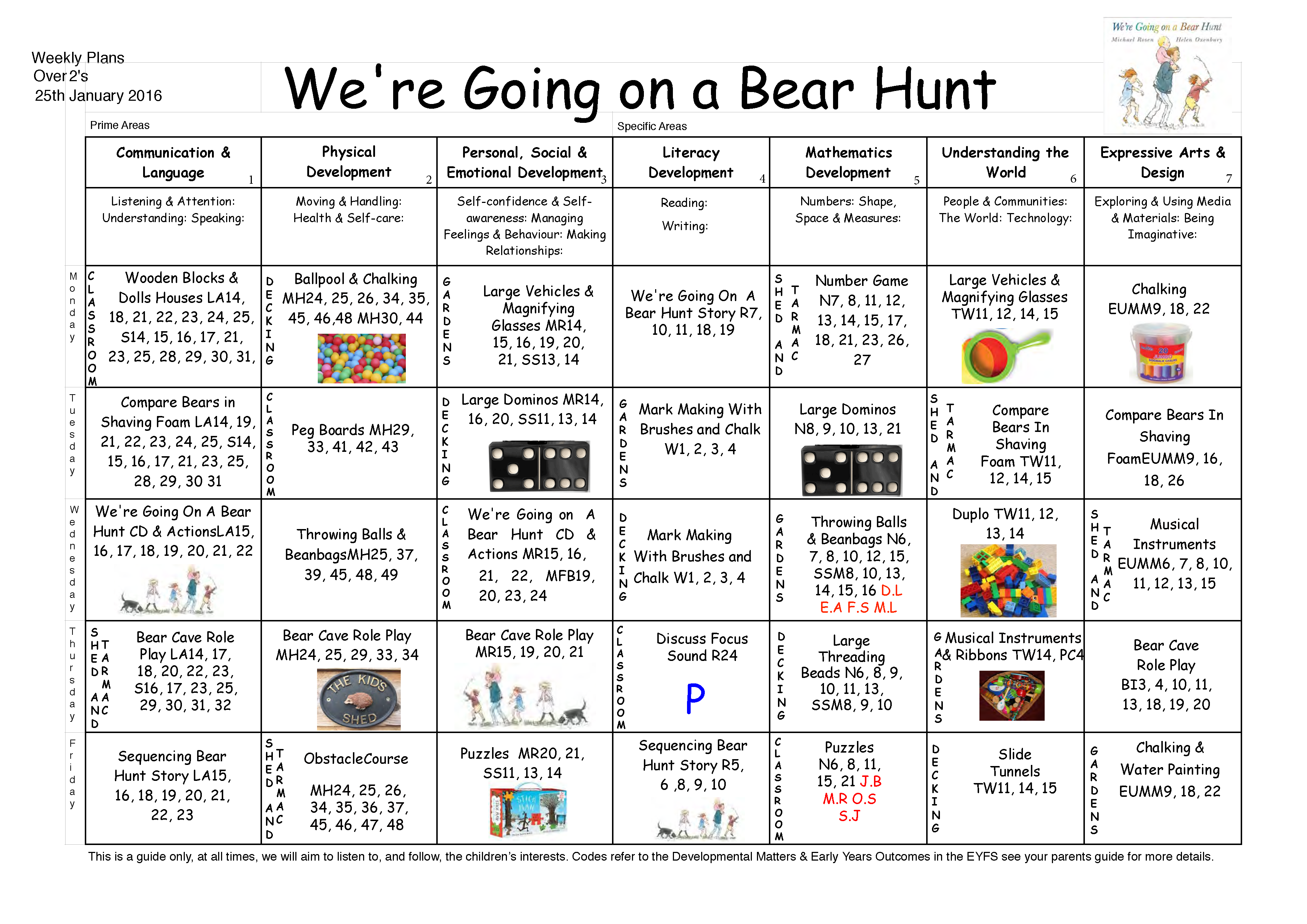 Were Going On A Bear Hunt Pdf